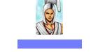 white monk